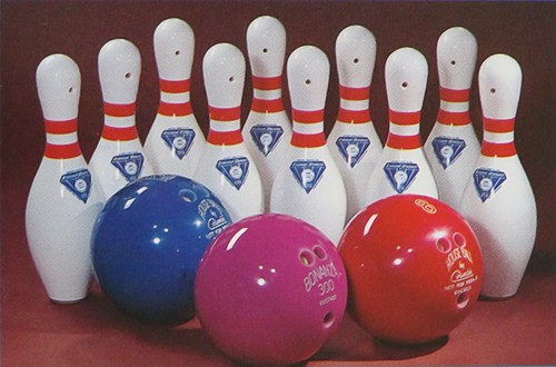 Bowling-Zubehör